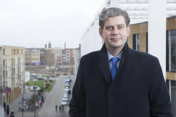 Burgemeester Wouter Kolff van Veenendaal.