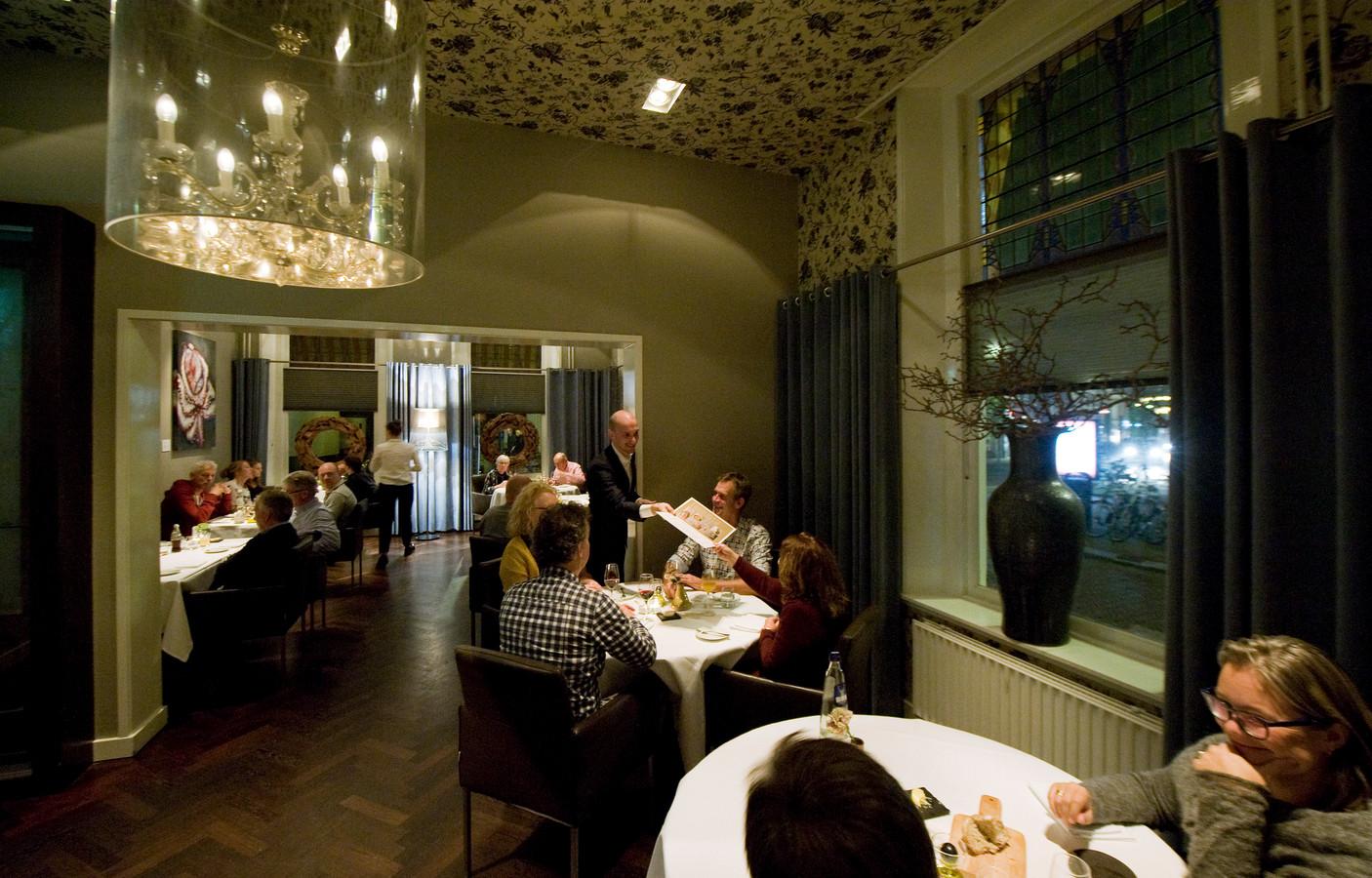 Archiefbeeld van restaurant O Mundo, nog in volle glorie.