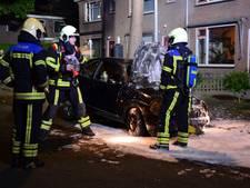 Auto brandt uit in Ermelo