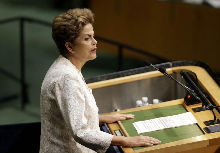 President Rousseff Beeld ap