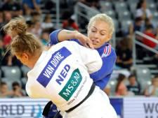 Zilver voor judoka Van Dijke op Grand Prix in Boedapest