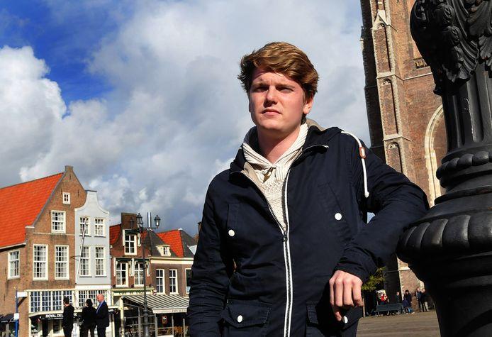 """Alwin Snel van De Burgemeesters. ,,We hebben nu de eerste duizend bezoekers gehad."""""""