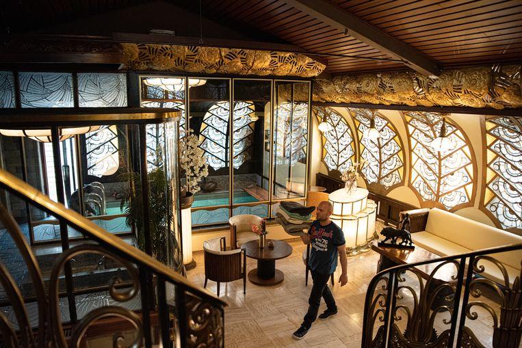 Sauna Deco. Beeld Aziz Kawak