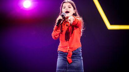 """Jana (8) is jongste kandidaat ooit in 'The Voice Kids': """"De camera's, de spanning: ze is goed begeleid"""""""