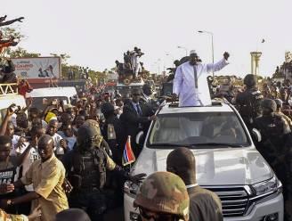 Ex-president Gambia liet wapens en munitie achter in privéwoning