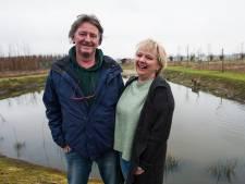 Koosje en Peter veranderden een kale landbouwvlakte in Hilvarenbeek in een  intieme natuurcamping