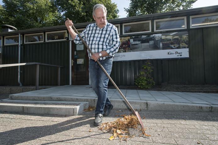 Piet Garrelds is het liefst buiten bezig.