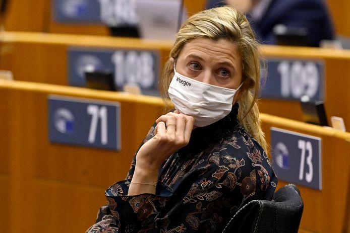 Annelies Verlinden, ministre de l'Intérieur.