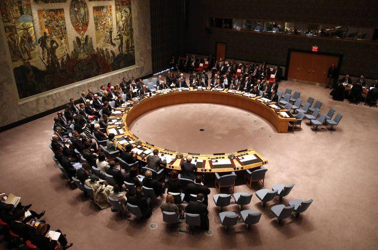 De VN-Veiligheidsraad in New York. Beeld null
