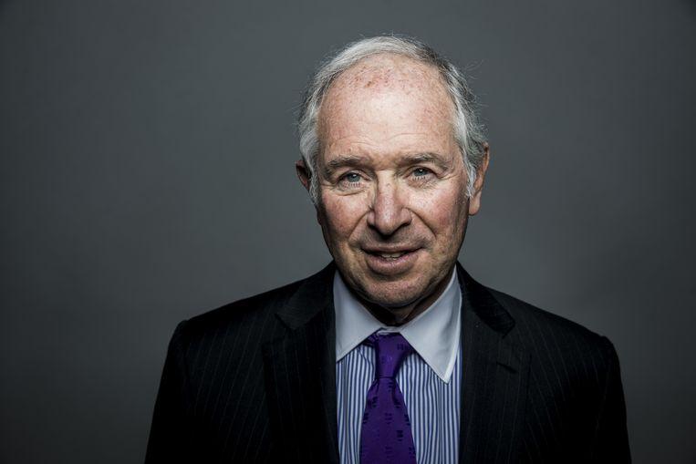 Stephen Schwarzman, miljardiar en medeoprichter van de Blackstone Group LP, woensdag 19 juni in Londen na de bekendmaking van zijn donatie aan de universiteit van Oxford. Beeld Bloomberg