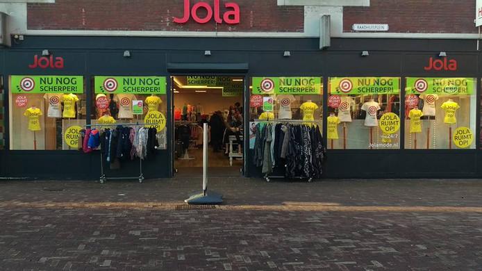 Een Jola-winkel in Bodegraven.