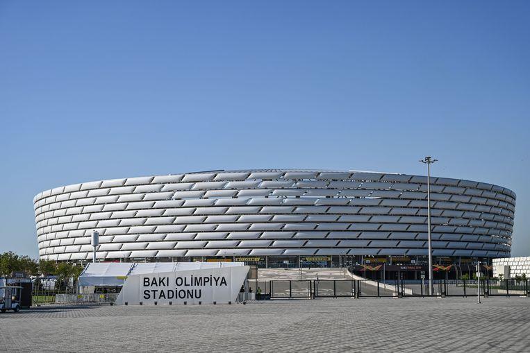 Het olympisch stadion in Baku.