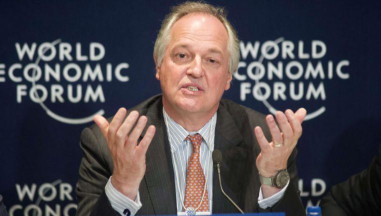 Paul Polman Beeld AFP