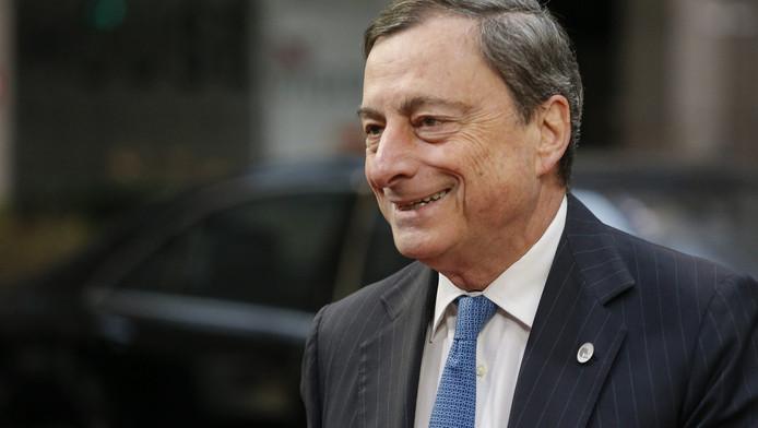 Dit heeft ECB-president Mario Draghi donderdag bekendgemaakt tijdens een persconferentie.