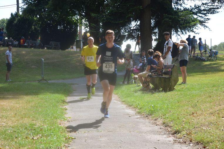 De jogging 'Dwars door Neigembos'.