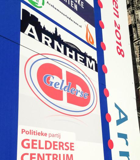 'Poster Gelderse Centrum Democraten moet van de borden'