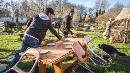 Jongeren met schoolmoeheid bouwen eetbaar park