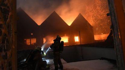 111 omwonenden geëvacueerd bij hevige brand in carrosseriezaak