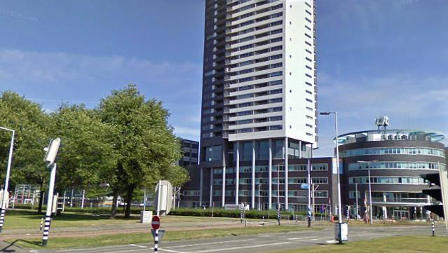 De Pegasusflat in Rotterdam-Alexander.
