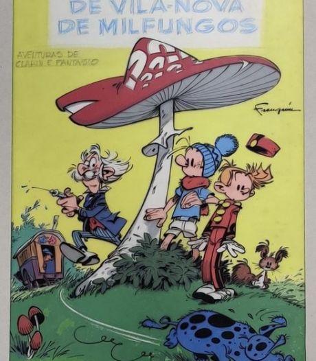 Un dessin d'André Franquin disparu depuis 50 ans aux enchères