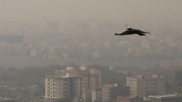 Ieder land heeft zijn eigen milieuproblemen. In Iran is dat luchtvervuiling. Beeld Fatemeh Bahrami/Getty
