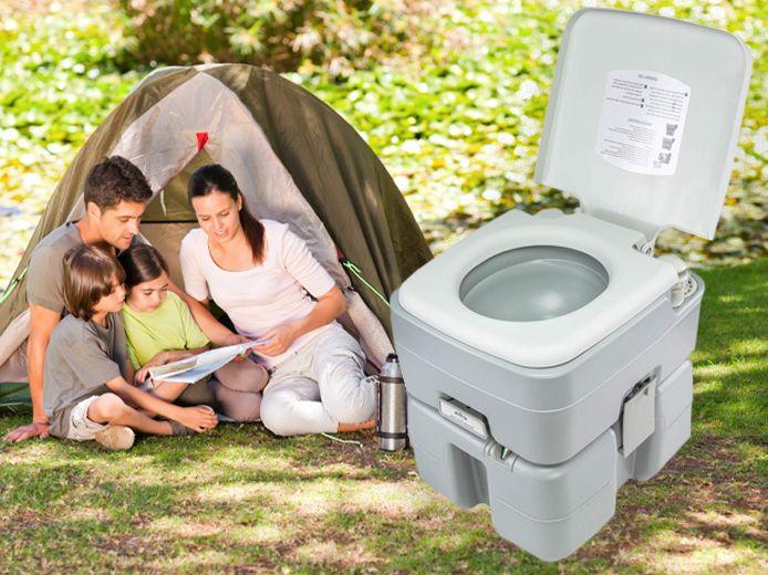 Moet het eigen toilet mee naar de camping?