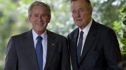 President Bush sr. sprak zijn laatste woorden aan de telefoon met zoon Bush jr.
