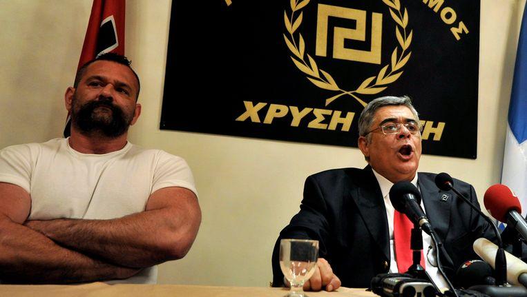 Nikos Michaloliakos. Beeld EPA