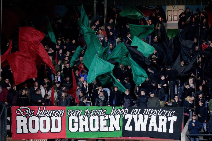 NEC-fans in De Goffert.