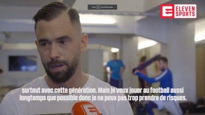 """Steven Defour: """"Geef mezelf vijf procent kans om WK te halen. Màximum vijf procent"""""""