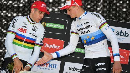 """Van Aert reageert op ons interview met Vantornout: """"Zou niet weten waarom ik Van der Poel op de korrel moet nemen"""""""