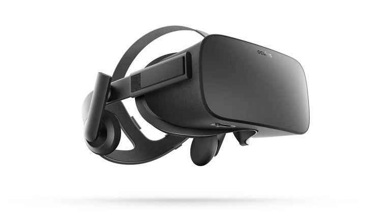 VR-bril Oculus Rift. Beeld AP