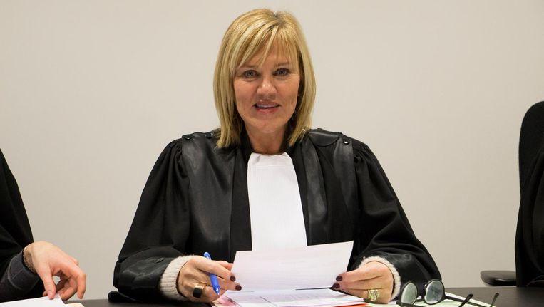 Mireille Schreurs moet zich als politierechter staande houden in een wereld met vooral mannelijke collega's.