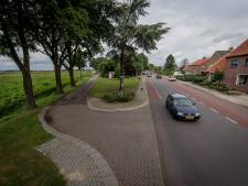 Automobilisten gedragen zich weer in Westerhaar na dreigement, eerste deel Hoofdweg gereed