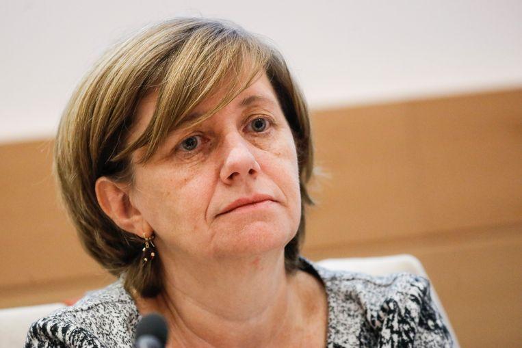 NMBS-topvrouw Sophie Dutordoir