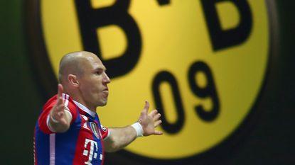 Robben opnieuw de beul van Dortmund in Duitse bekerfinale