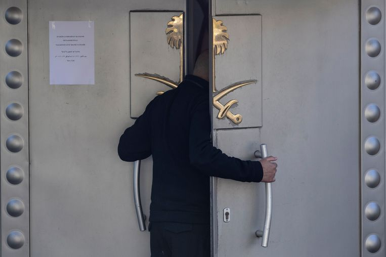 Saudi-Arabisch consulaat in Istanbul