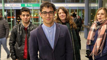 Vrienden schrijven brieven om Omran in België te houden