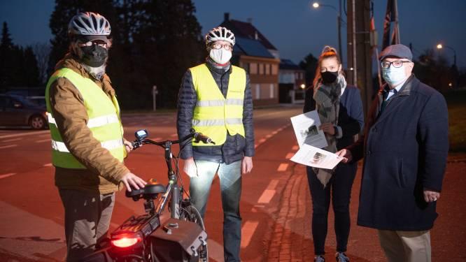 Fietsersbond en bewoners vragen voorlopige ingrepen die N8 veiliger maken voor zwakke weggebruiker