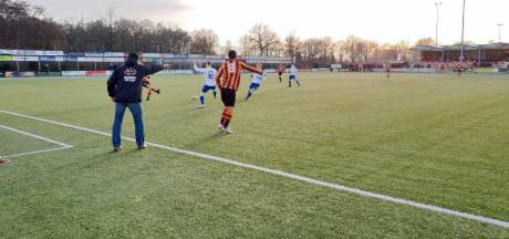 Kater FC Zutphen na late gelijkmaker