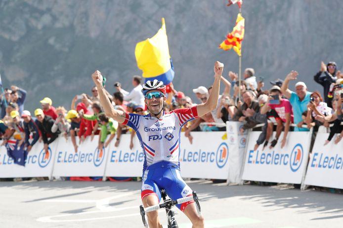 Vainqueur au Tourmalet, deuxième au Prat d'Albis, Thibaut Pinot a fait forte impression dans les Pyrénées.