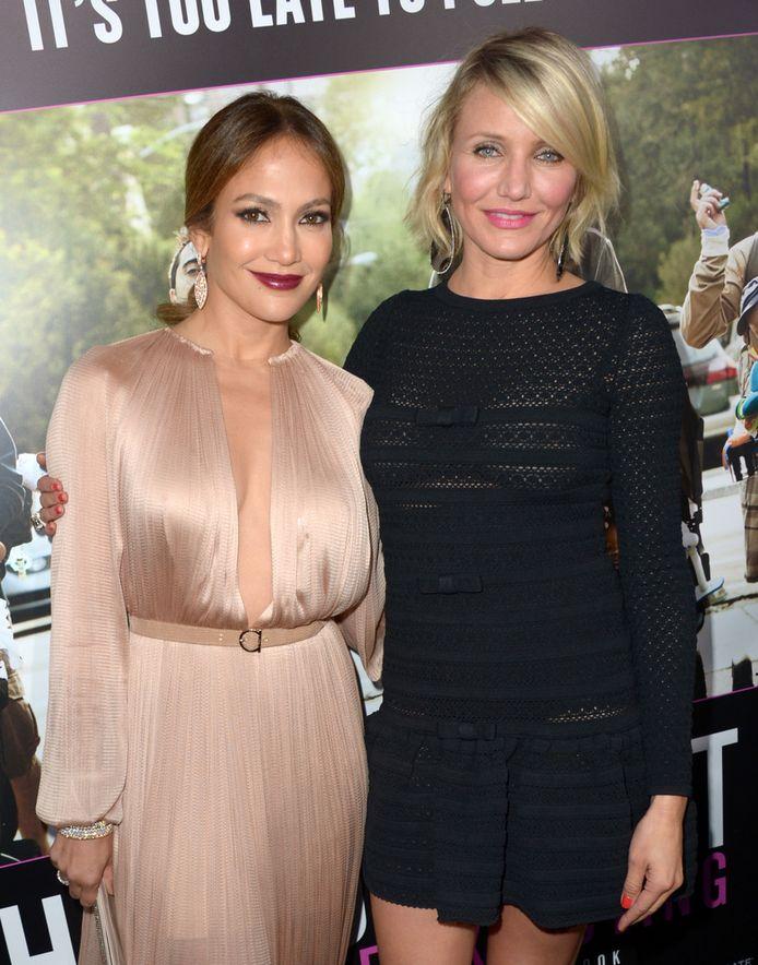 Jennifer en Cameron leken nochtans vriendinnen.