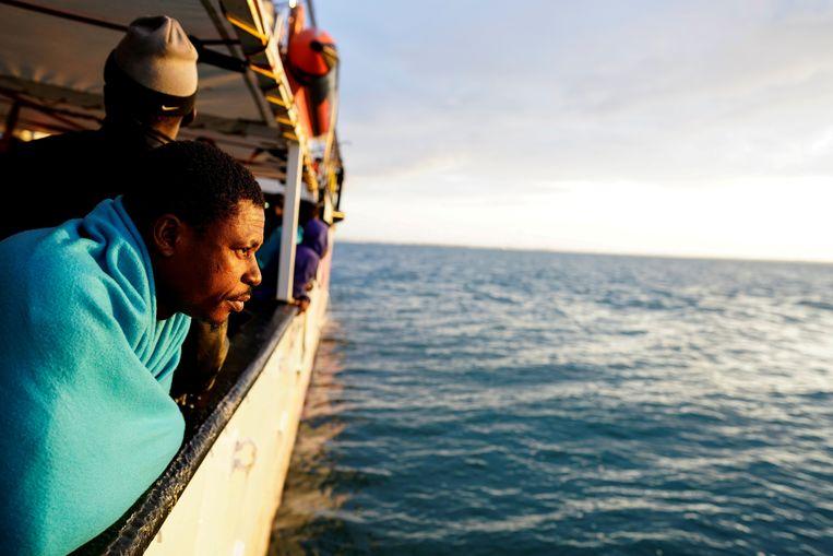 Het aantal migranten dat Italië per boot probeert te bereiken, is fors afgenomen.