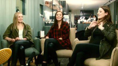 """Drie bevallige keepersvrouwen voor onze camera: """"Onze mannen hebben een ondankbare job"""""""