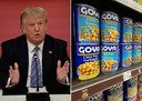 Aanhangers van Trump en producent Goya beschouwen de boycot van de linkerzijde als een poging om de vrije meningsuiting te onderdrukken.