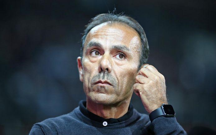 Jos Luhukay, coach van St. Pauli.