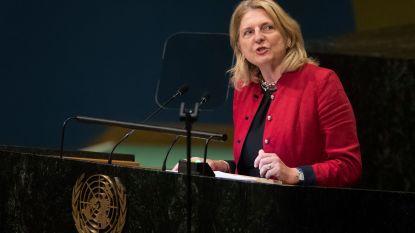 Oostenrijkse minister showt talenknobbel en speecht in zes talen voor VN