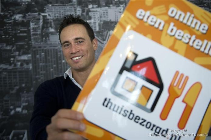 CEO en oprichter Jitse Groen van Thuisbezorgd.nl in 2011