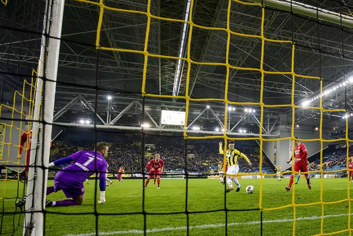 Beeld uit een eerdere editie van Vitesse - FC Twente.