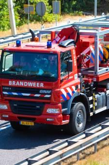 Brandweer regio Utrecht rijdt ruim 100 kilometer om te helpen bij grote duinbrand Heemskerk